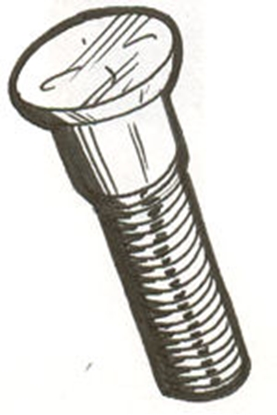 Picture of A1118 ~ Hub Bolts Rear 1928-31