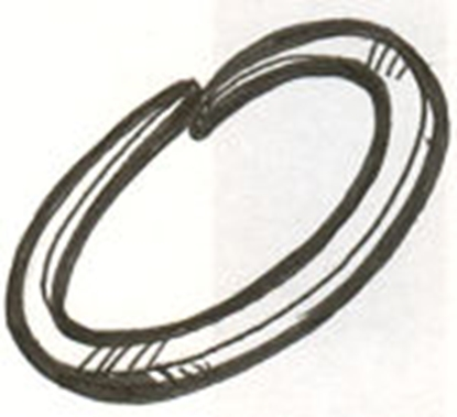 Picture of A1180 ~ Snap Ring For Outer Grease Seal 1928-38
