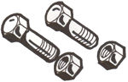 Picture of A5251MB ~ Muffler Clamp Bolt Set