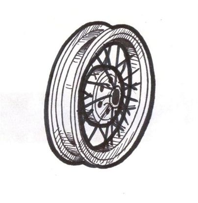 Picture of A1015BR ~ New Wheel 21 Inch 1928-29