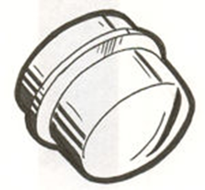 Picture of A1138A ~ Front Dust Cap Screw In 1928-31