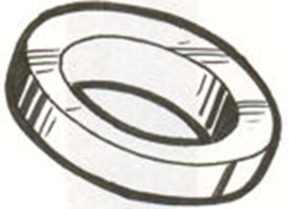 Picture of A1190 ~ Front Wheel Inner Dust Seal 1928-34
