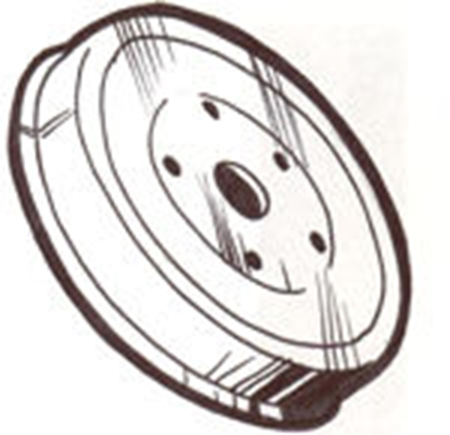 Picture of A1126 ~ Brake Drum Rear