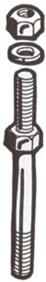 Picture of A5154 ~ Battery Support Stud Set