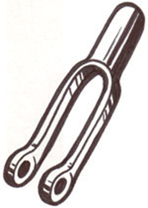 Picture of A2461 ~ Two Prong Clevis