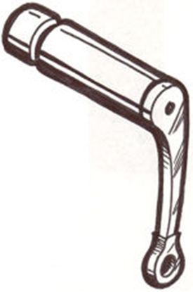 Picture of A2636A ~ Emergency Brake Toggle Lever