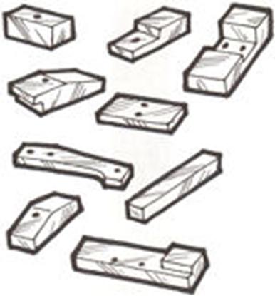 Picture of A500118 ~ Body Blocks 1930-31 Slant 4-Door