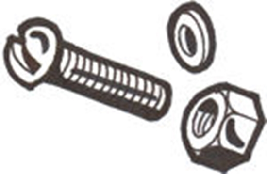 Picture of A5125MB ~ Running Board Bracket Mounting Bolt Kit