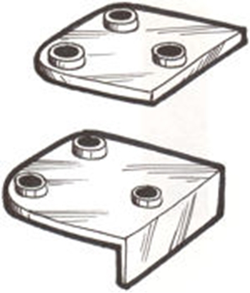 Picture of A509294 ~ Motor Mount Pads