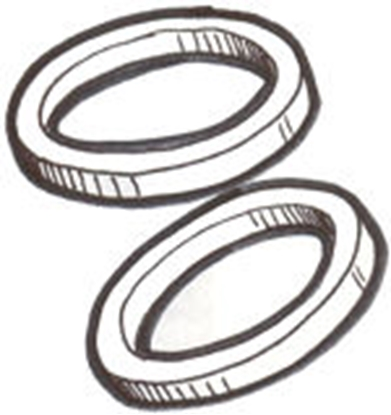 Picture of A6648 ~ Return Pipe Gaskets