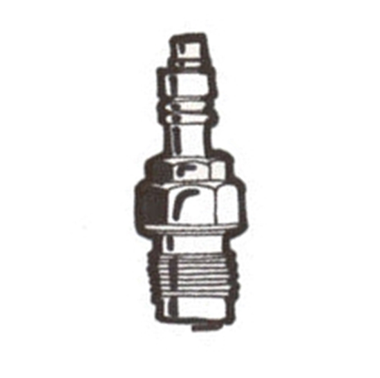 Picture of A124053X ~ 3 X Champion Show Spark Plugs