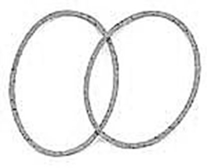 Picture of A17257B ~ Round Speedometer Lens Gasket