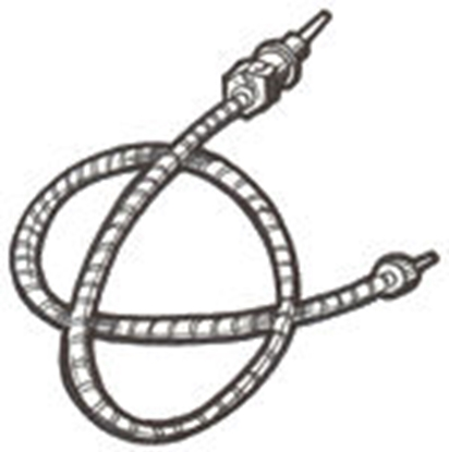 Picture of A17260A ~ Speedometer Cable Oval 1928-30
