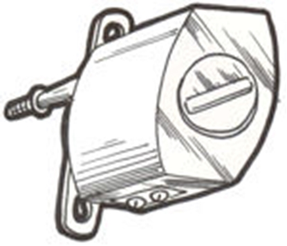 Picture of A17508 ~ Wiper Motor Electric 6 VOLT