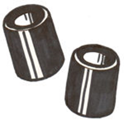 Picture of A17759 ~ Bumper Spacers Pair 1928-31