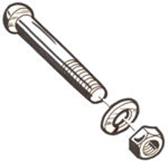 Picture of A17834SS ~ Bumper End Bolt Stainless Steel 1928-31