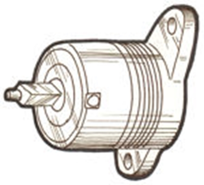 Picture of A18016B ~ Shock Absorber Left Front & Right Rear 1928-31