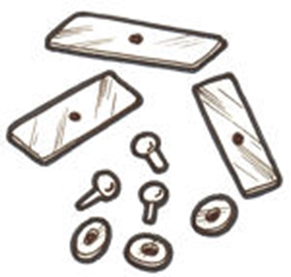 Picture of A35245C ~ Shift Plate Clips