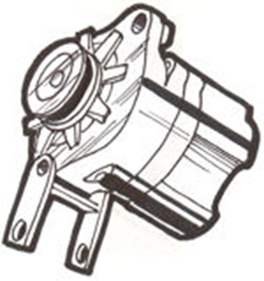 Picture of A1000A ~ Alternator 6 Volt