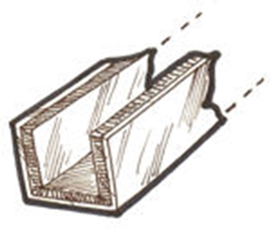 Picture of A45983PU ~ Window Channel Kit Pick up 1928-29