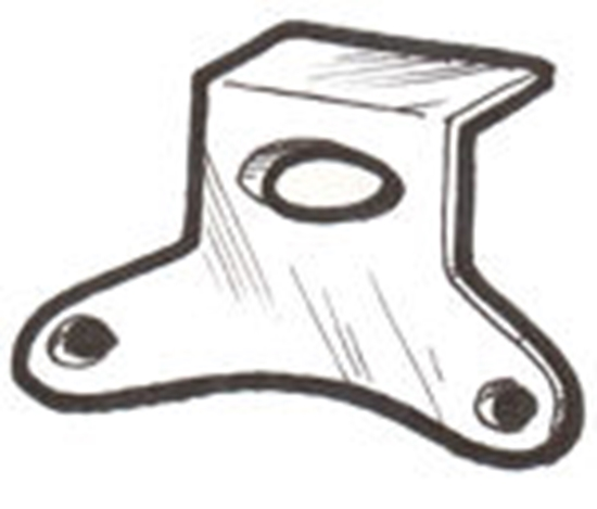 Picture of A13805 ~ Horn Bracket