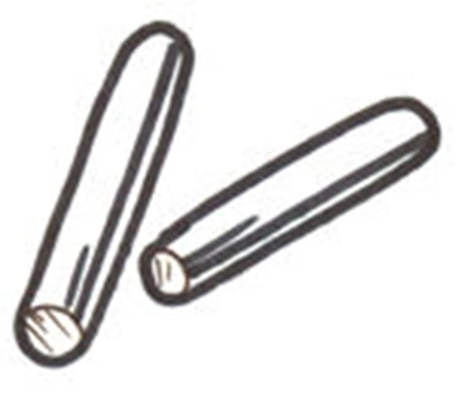 Picture of A46250P ~ Handle Pins 4 Pieces  1928-31
