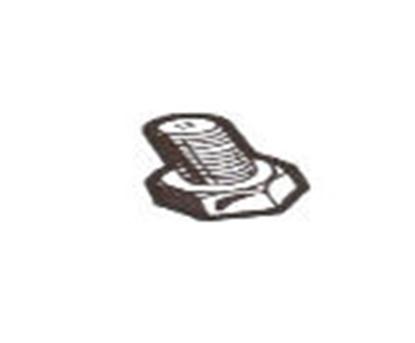 Picture of A9590C ~ Lower Drain Plug Cadmium
