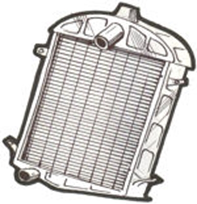 Picture of A8005H1 ~ Brassworks Radiator