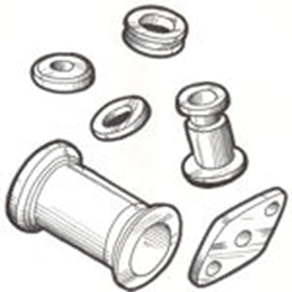 Picture of A14600A ~ Firewall Grommet Set 1928-31