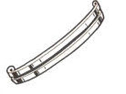 Picture of A17750BSS ~ Front Bumper Bars Stainless Steel 1930-31