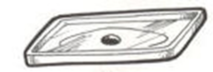 Picture of A17756B ~  Backing Plate 1930-31