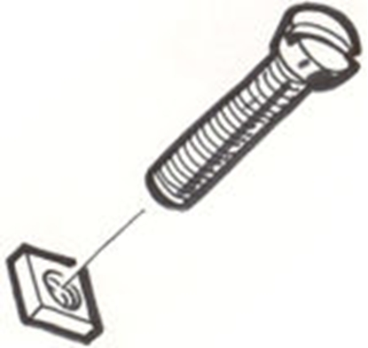 Picture of #1090 ~ Step Plate Screw Set