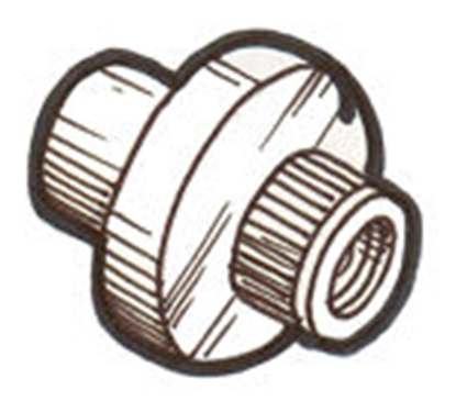 Picture of A45475N ~ Windshield Frame Nut 1929-31