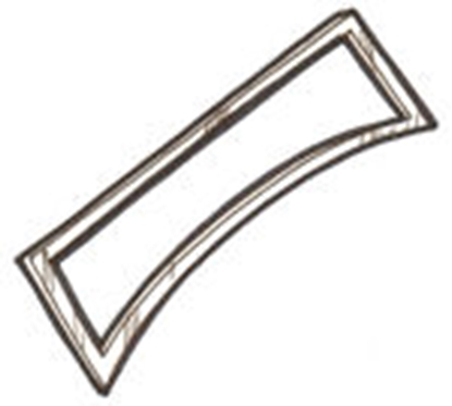 Picture of A37110BPS ~ Windshield Frame Standard Plain 1930-31