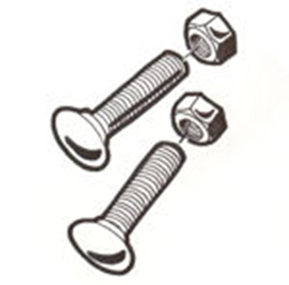 Picture of #2136 ~ Headlight Bar Bolt Set