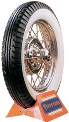 Picture of A19WW ~ Firestone 19 In White Wall Tire