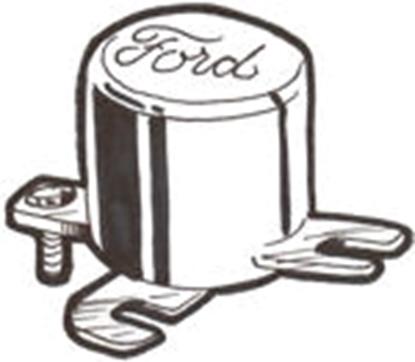 Picture of A10505fS ~ Ford Script Semi-Conductor Cut-Out Nu-Rex Brand
