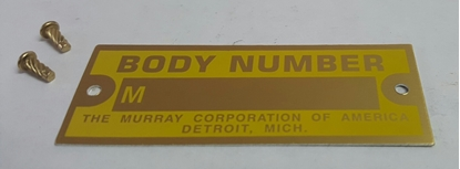 Picture of A18652 ~ Murray Body Plate With Rivets
