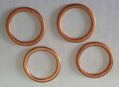 Picture of A12410 ~ Spark Plug Gaskets Copper