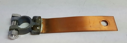 Picture of A14301B ~ Flat Copper Battery Ground Strap 1928-31