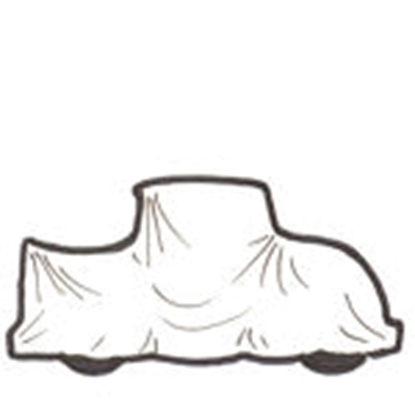 Picture of  A678P ~ Cotton Car Cover PICK UP 1928-31