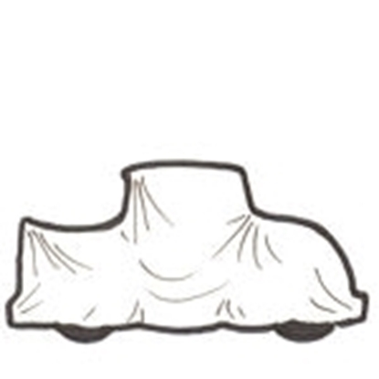 Picture of A678S ~ Cotton Car Cover SEDAN 1928-31